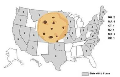 米国でのクッキー生地での食中毒